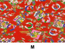 M Ornament Washi Paper