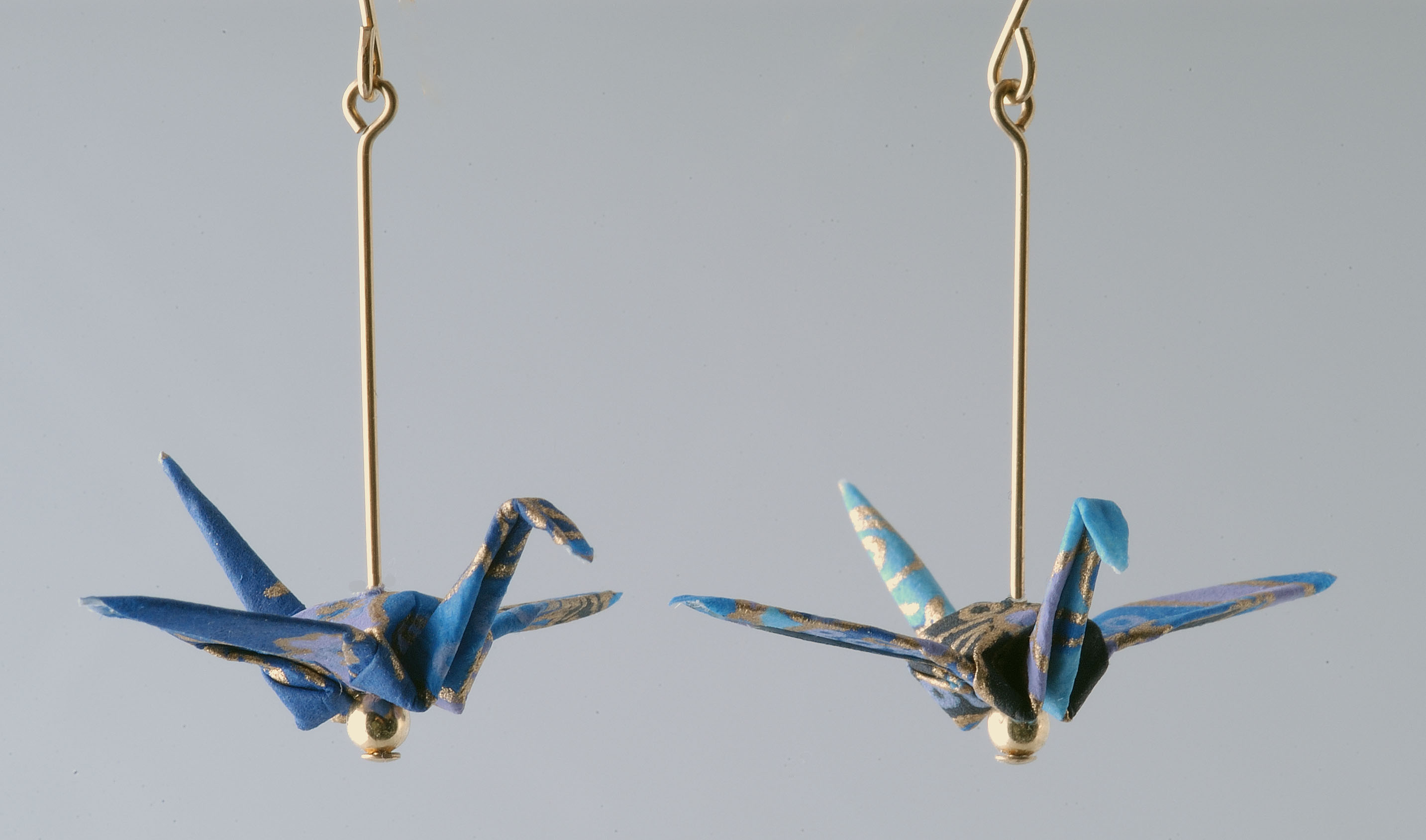 Origami Animal Jewelry, Origami Pins, Origami Earrings ... - photo#32