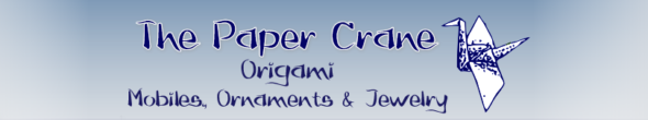 The Paper Crane Origami