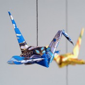 A Crane Mobile