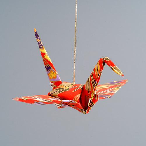 Crane Ornament - The Paper Crane Origami