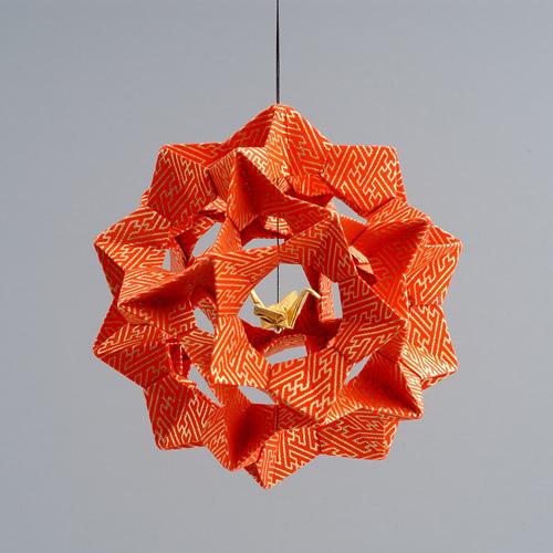 Crane Sphere Ornament