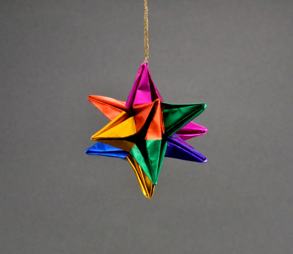 Origami Animal Christmas Ornaments, Paper Animal Holiday ... - photo#38