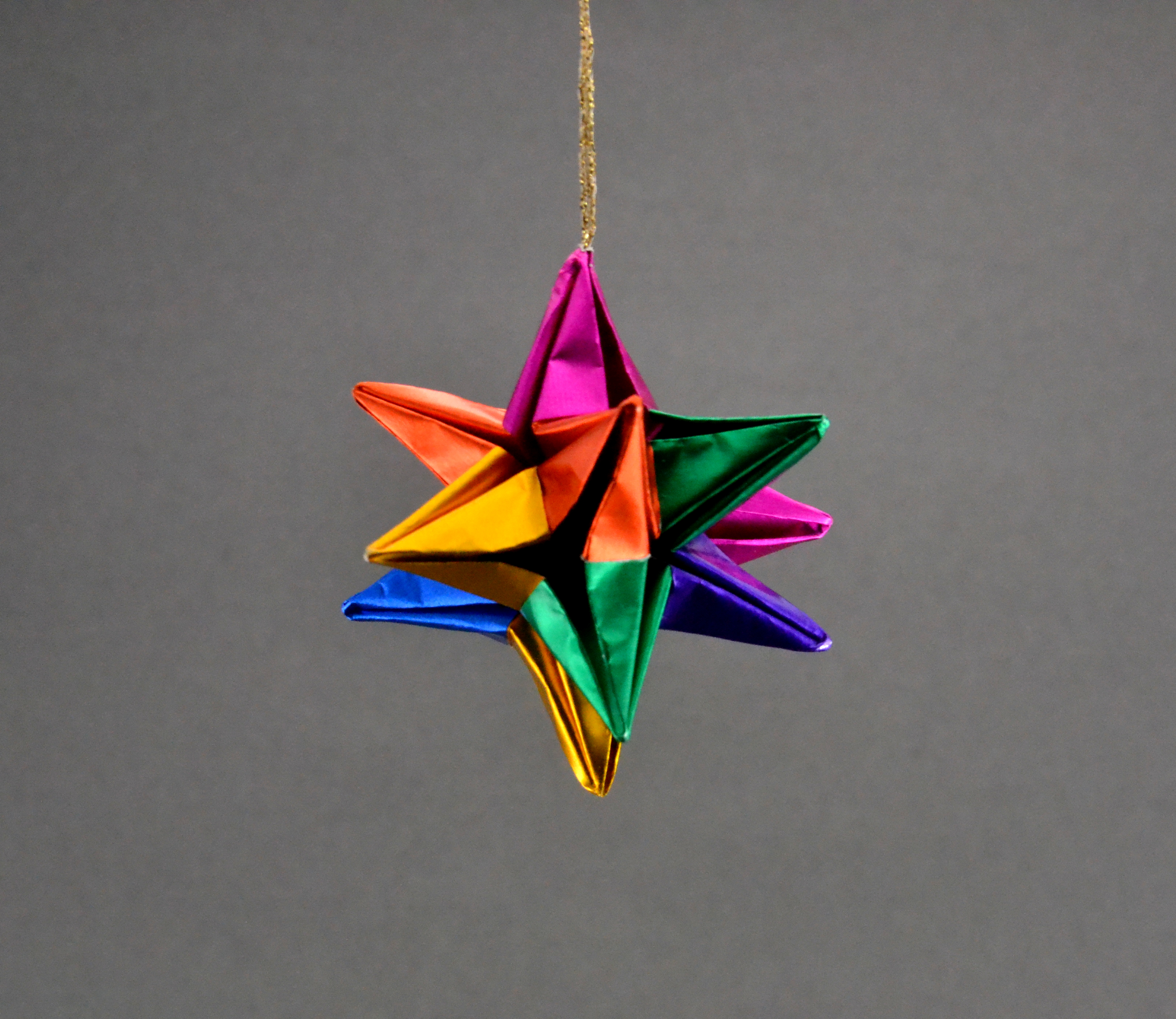 Origami Animal Christmas Ornaments, Paper Animal Holiday ...
