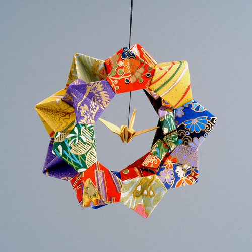 Origami animal christmas ornaments paper holiday